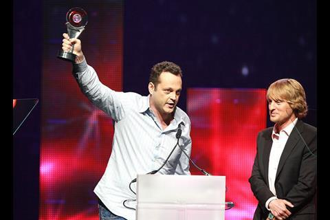 Vince Vaughn and Owen Wilson at CinemaCon